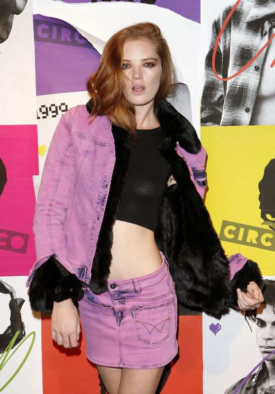 ALEXINA GRAHAM at Carine Roitfeld x Circo Loco Party in Paris 09/30/2017
