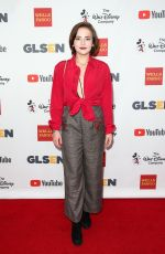 ALEXIS G.ZALL at Glsen Respect Awards in Los Angeles 10/20/2017