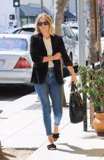 ALI LARTER at M Cafe in Beverly Hills 10/07/2017