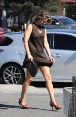 ALI LARTER Out and About in Beverly Hills 10/27/2017