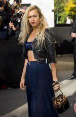ALICE DELLAL at Chanel Fashion Show at Paris Fashion Week 10/03/2017