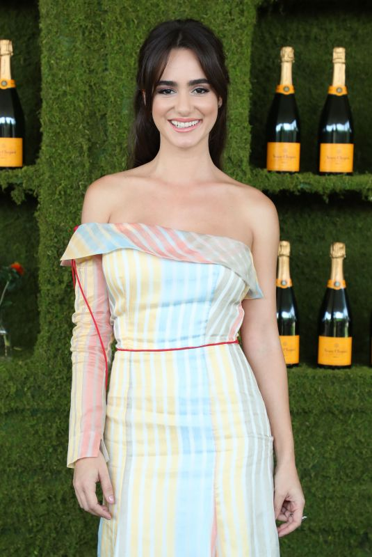 ALICIA SANZ at 8th Annual Veuve Clicquot Polo Classic in Los Angeles 10/14/2017