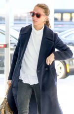 ALICIA VIKANDER at JFK Airport in New York 10/27/2017