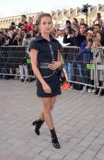 ALICIA VIKANDER at Louis Vuitton Fashion Show at Paris Fashion Week 10/03/2017
