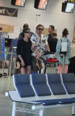 ALICIA VIKANDER Flies Out of Ibiza After Her Wedding with Michael Fassbender 10/17/2017