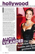 ALICIA VIKANDER in TV Media, October 2017
