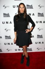 ALINA PUSCAU at UNA VIP Screening in New York 10/04/2017