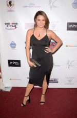 ALISA REYES at Halloween Hotness 4: Heating Up for the Cure in Hollywood 10/15/2017