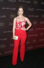 ALISHA MARIE at People's Ones to Watch Party in Los Angeles 10/04/2017