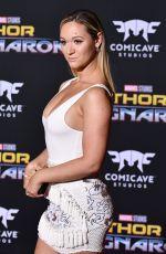 ALISHA MARIE at Thor: Ragnarok Premiere in Los Angeles 10/10/2017