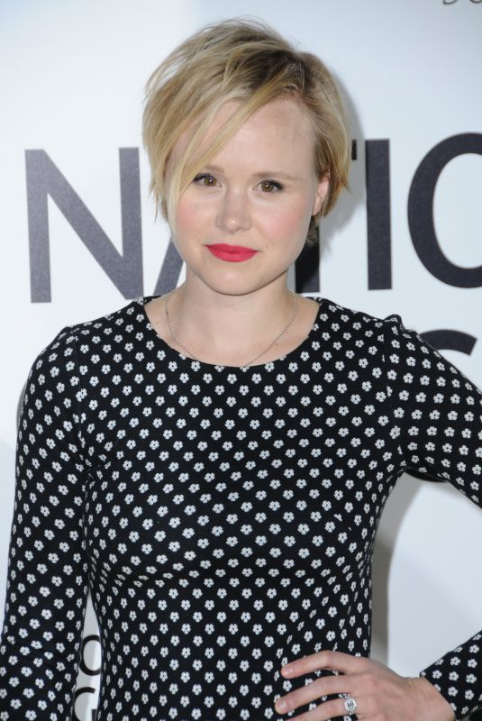 ALISON PILL at Jane Premiere in Hollywood 10/09/2017