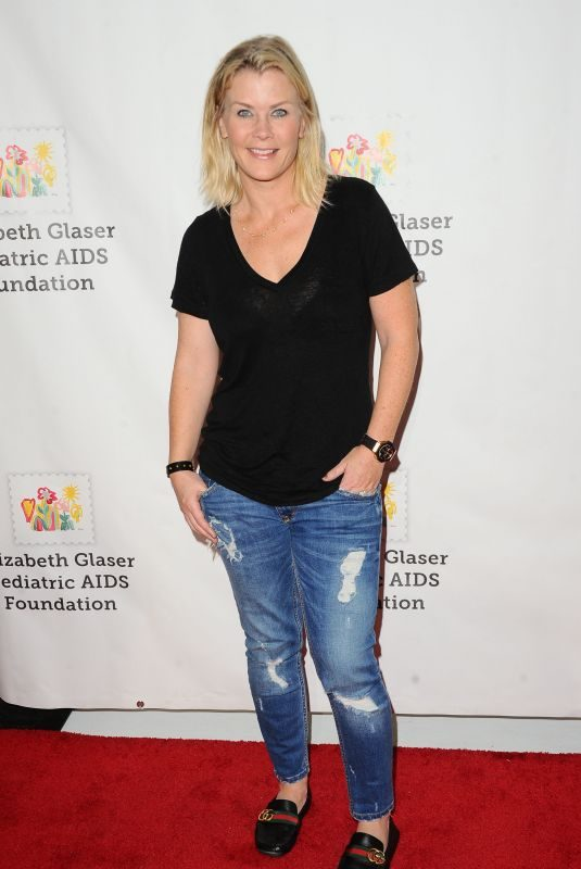 ALISON SWEENEY at 28th Annual A Time for Heroes Family Festival in Culver City 10/29/2017