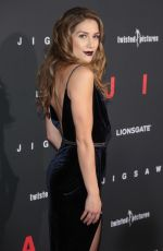 ALLISON HOLKER at Jigsaw Premiere in Los Angeles 10/25/2017