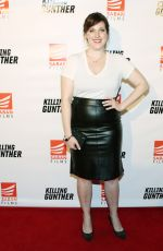 ALLISON TOLMAN at Killing Gunther Premiere in Los Angeles 10/14/2017
