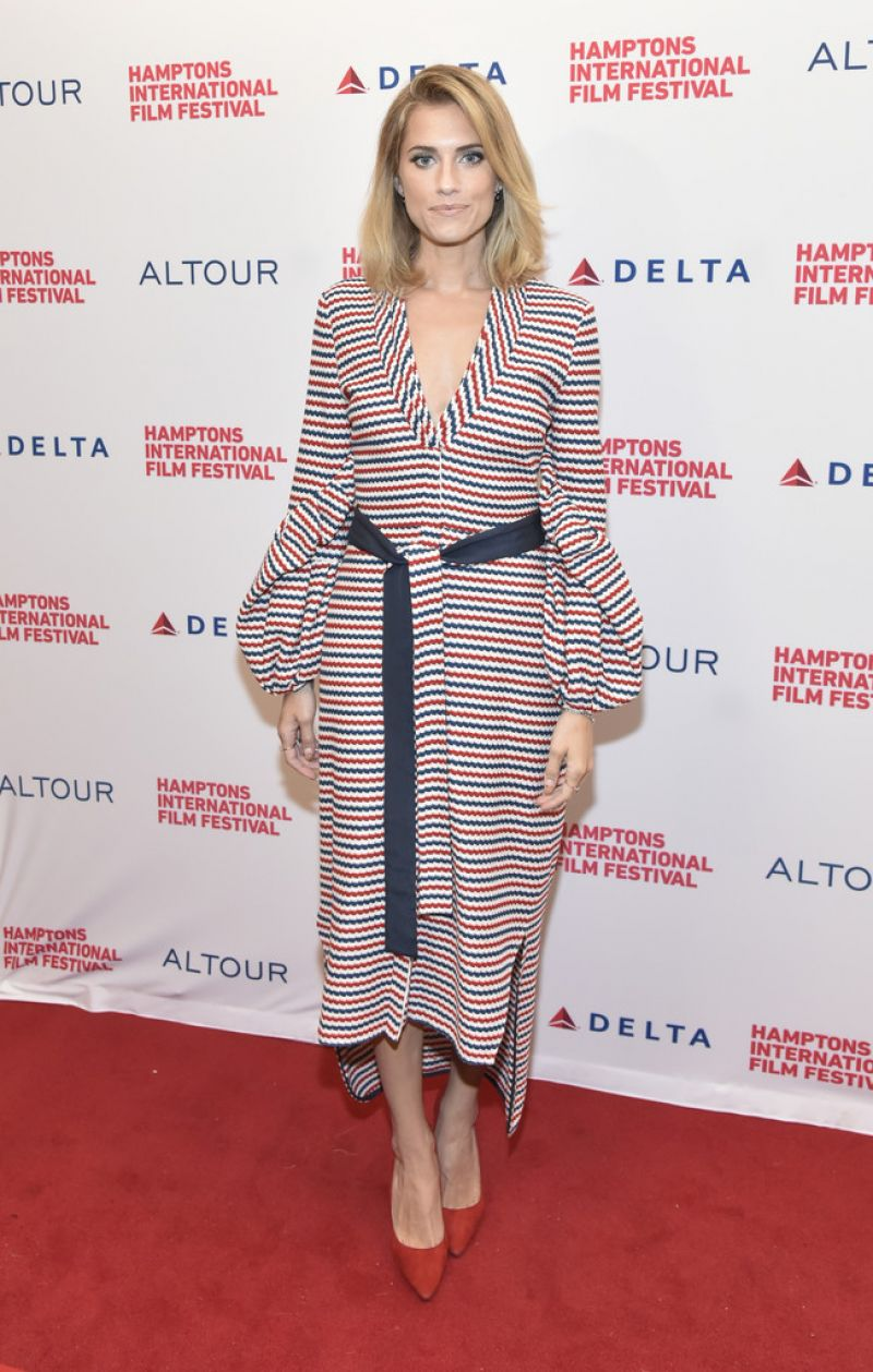 ALLISON WILLIAMS at Anatomy of a Scene: Get Out Panel at Hamptons ...