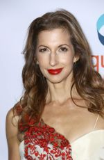 ALYSIA REINER at Make Equality Reality Gala in New York 10/30/2017