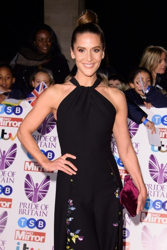 AMANDA BYRAM at Pride of Britain Awards 2017 in London 10/30/2017