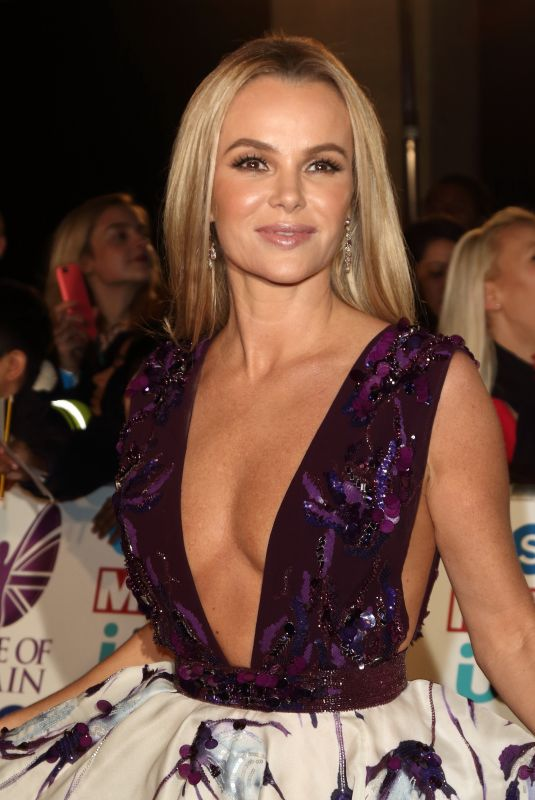 AMANDA HOLDEN at Pride of Britain Awards 2017 in London 10/30/2017