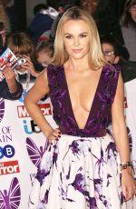 AMANDA HOLDEN at Pride of Britain Awards 2017 in London 10/30/2017