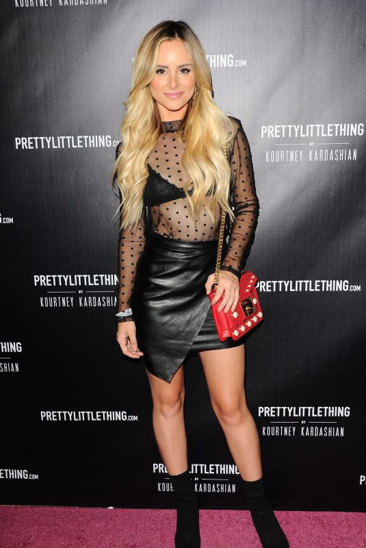 AMANDA STANTON at Prettylittlething by Kourtney Kardashian Launch in Los Angeles 10/25/201