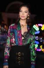 AMANDA STELLE at William Vintage x Farfetch Unveiling of Gianni Versace Archive in Beverly Hills 10/05/2017