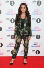 AMBER DAVIES at BBC Radio 1 Teen Awards 2017 in London 10/22/2017