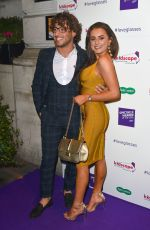 AMBER DAVIES at Spectacle Wearer of the Year in London 10/10/2017