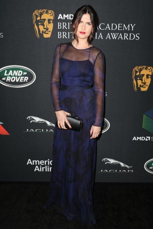 AMBER HODGKISS at Bafta Los Angeles Britannia Awards in Los Angeles 10/27/2017