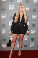 AMBER TURNER at Kiss FM's Haunted House Party in London 10/26/2017