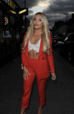 AMBER TURNER Night Out in Essex 10/04/2017