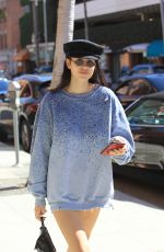 AMEIA GRAY HAMLIN Out Shopping in Beverly Hills 10/04/2017