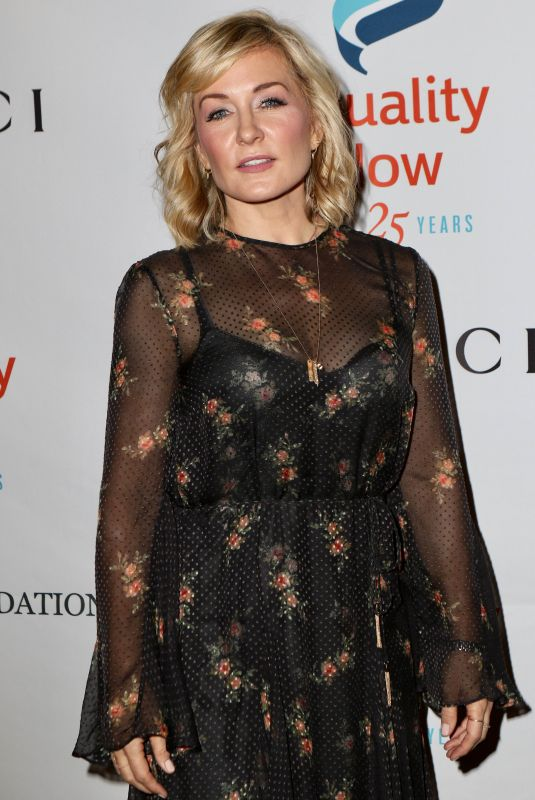 AMY CARLSON at Make Equality Reality Gala in New York 10/30/2017