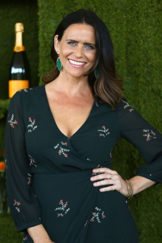 AMY LANDECKER at 8th Annual Veuve Clicquot Polo Classic in Los Angeles 10/14/2017