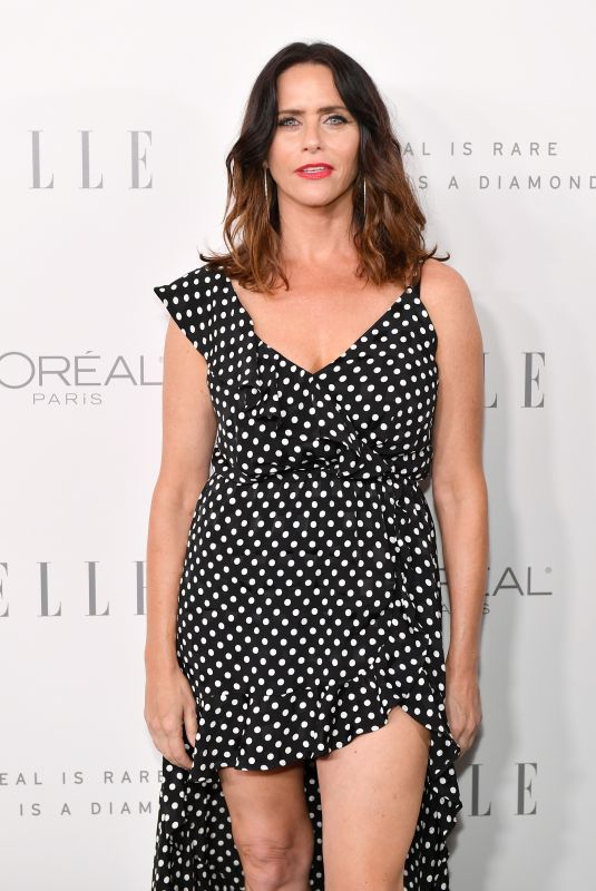 AMY LANDECKER at Elle Women in Hollywood Awards in Los Angeles 10/16/2017