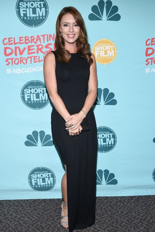 AMY PEMBERTON at 12th Annual NBC/Universal Short Film Festival in Los Angeles 10/18/2017