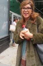 AMY PIETZ Arrives at Build Studios in New York 10/16/2017