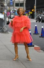 AMY SEDARIS Arrives at Late Show with Stephen Colbert in New York 10/23/2017