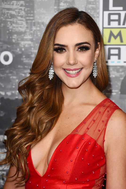 ANA BELENA at 2017 Latin American Music Awards in Hollywood 10/26/2017