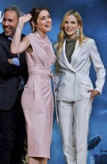 ANA DE ARMAS and SYLVIA HOEKS at Blade Runner 2049 Photocall in Tokyo 10/23/2017