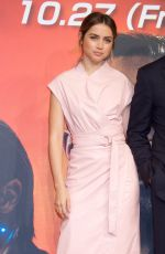 ANA DE ARMAS at Blade Runner 2049 Press Conference in Tokyo 10/23/2017