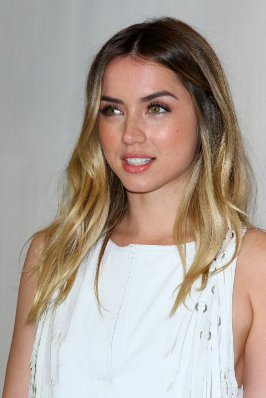 ANA DE ARMAS at Hammer Museum Gala in the Garden Honoring Ava Duvernay in Los Angeles 10/14/2017