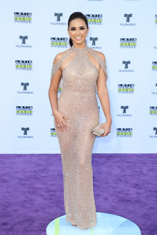 ANA FLORES JURKA at 2017 Latin American Music Awards in Hollywood 10/26/2017