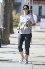 ANA ORTIZ Out for Drink in Los Angeles 10/12/2017