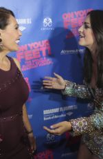 ANA VILLAFANE at On Your Feet Broadway Musical in Miami 10/06/2017