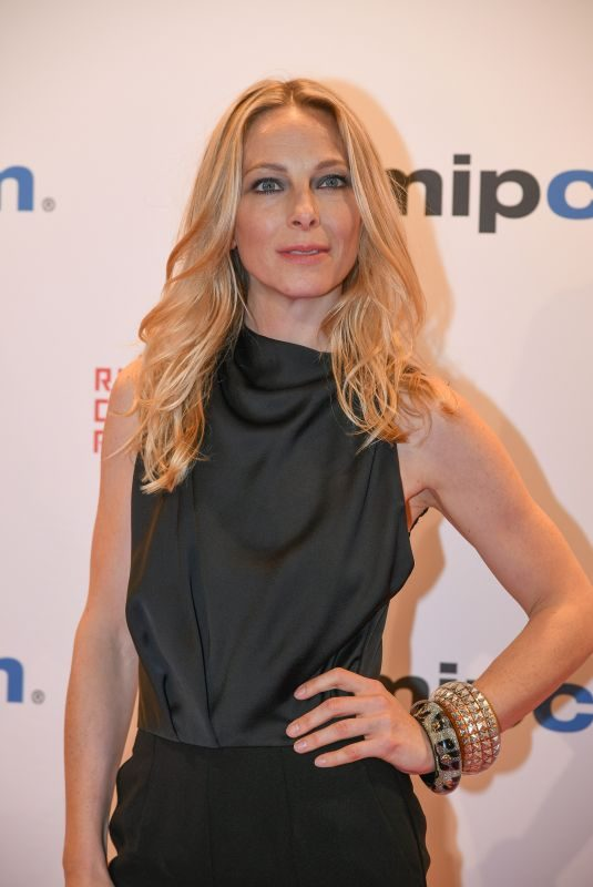 ANASTASIA GRIFFITH at Mipcom Opening Cocktail in Cannes 10/16/2017