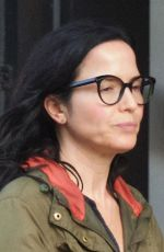 ANDREA CORR Out and About in Chelsea 10/16/2017