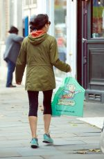 ANDREA CORR Out Shopping on Kings Road in Chelsea 10/02/2017