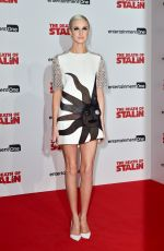 ANDREA RISEBOROUGH at The Death of Stalin Premiere in London 10/17/2017