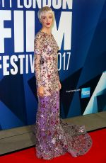 ANDREA RISEBOURGH at 61st BFI London Film Festival Awards in London 10/14/2017