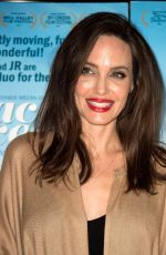 ANGELINA JOLIE at Faces Places Premiere in West Hollywood 10/11/2017